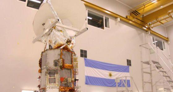 El ARSAT-1, primer satélite argentino de comunicaciones de gran tamaño.