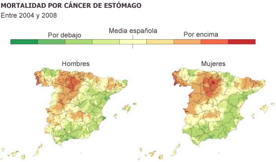 El mayor mapa del cáncer en España demuestra la desigualdad por regiones