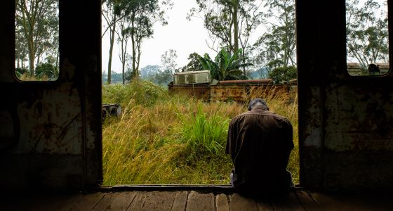 Un enfermo de sida en Mbanza-Ngungu (República Democrática del Congo)