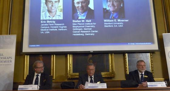 Premio Nobel de Química para los creadores del nanoscopio