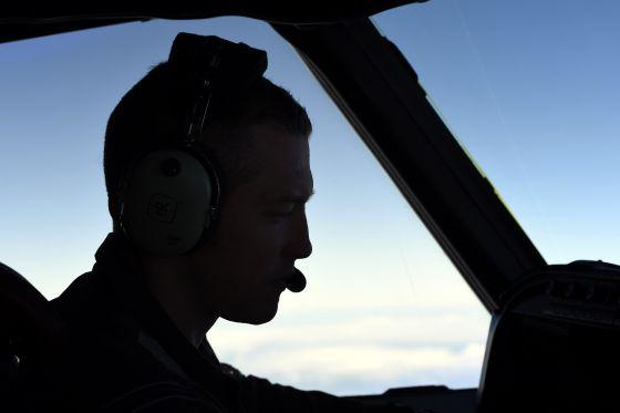 Un piloto neozelandés sobrevuela el océano Índico