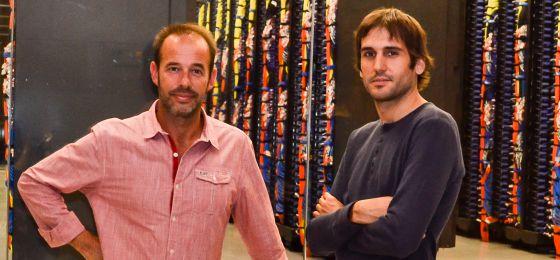David Torrents y Santi González, dos de los creadores de SMUFIN