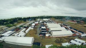 El mayor centro para el ébola de la historia, en Monrovia (Liberia)
