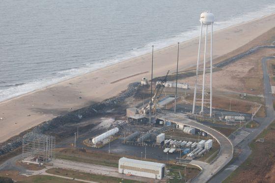 La explosión del cohete Antares provocó daños importantes en estructuras y edificios cercanos