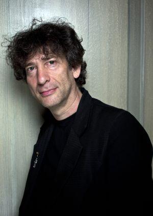 Neil Gaiman fotografiado en el hotel Covent Garden de Londres