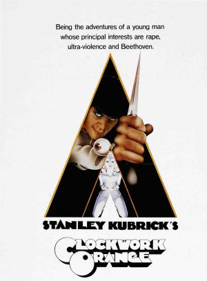 Carátula de la versión DVD de 'La naranja mecánica', de Stanley Kubrick. Warner Bros.