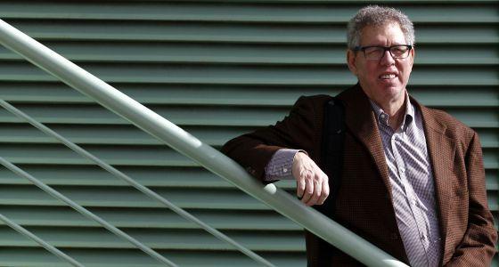 Jeffrey Friedman, fotografiado en el CNIC de Madrid.