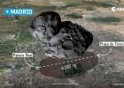 La sonda 'Philae', casi sin batería, perfora en el suelo del cometa