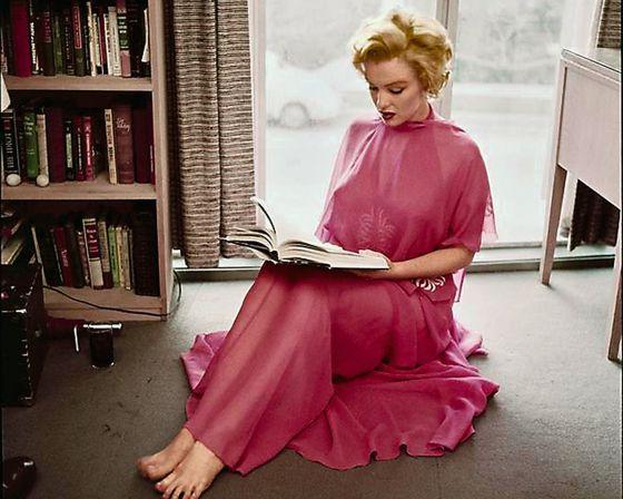 Cuando Marilyn Monroe leía a Lorca y Alberti