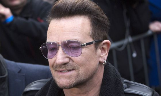 Bono sufre un accidente de bicicleta en Central Park