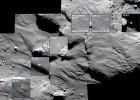 El accidentado aterrizaje, fotografiado por 'Rosetta'
