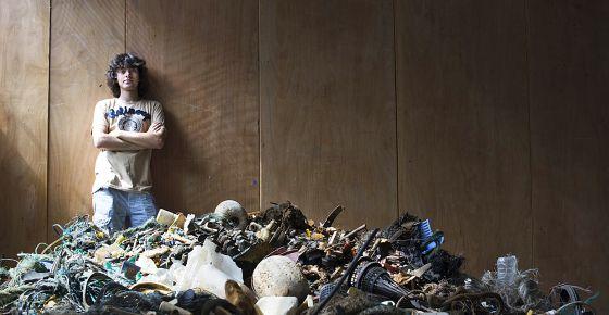 Boyan Slat, el estudiante autor del plan 'La limpieza de los océanos'.