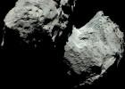 El cometa de Rosetta en colores