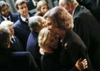 Los reyes presiden el funeral por la duquesa de Alba en Madrid