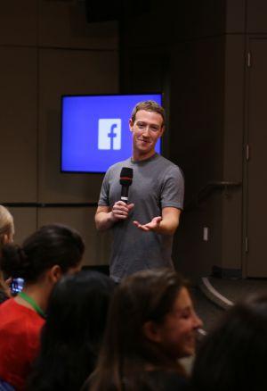 Mark Zuckerberg, creador de Facebook, en un comparecencia el mes pasado.