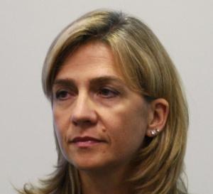 King Felipe's sister Cristina.
