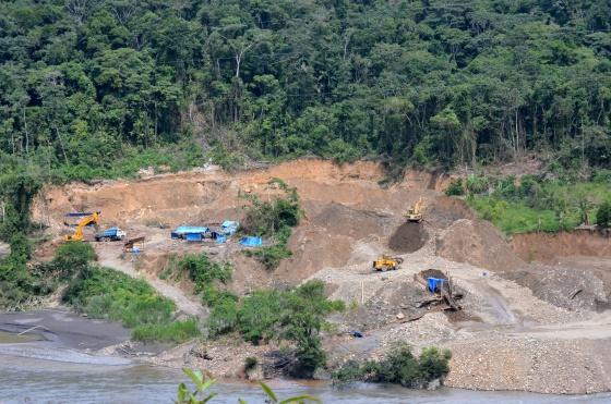 La nueva fiebre del oro arrasa 1.300 km2 de selva en Sudamér
