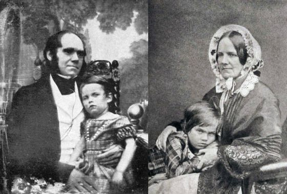 Los hijos de Darwin y su prima hermana