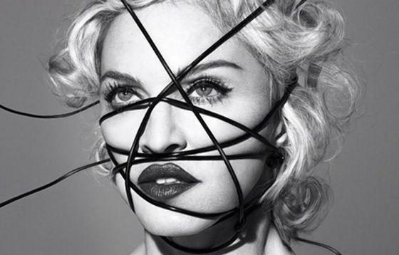 Filtrado al completo el nuevo disco de Madonna