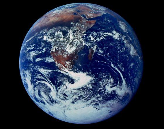 Mucho ha cambiado el clima desde que el Apolo 17 tomara esta imagen. Entonces no se hablaba de cambio climático y menos de geoingeniería.