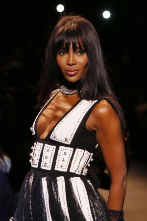 Naomi Campbell, el sábado en la Fashion For Relief