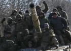 Retirada de tropas en Debáltsevo