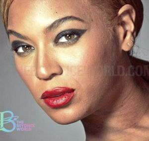 Beyonce sin Photoshop