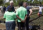 Sean Penn y Bill Clinton, juntos en Haití