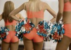 Músculo, curvas y vocación: el mundo de las 'cheerleaders'