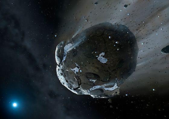 Un asteroide dos veces mayor que el que mató a los dinosaurios