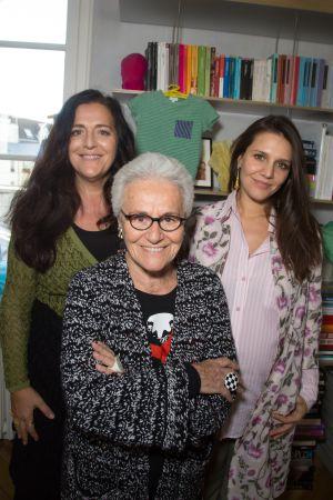 Angela Missoni, Rosita Missoni y Margherita Maccapani