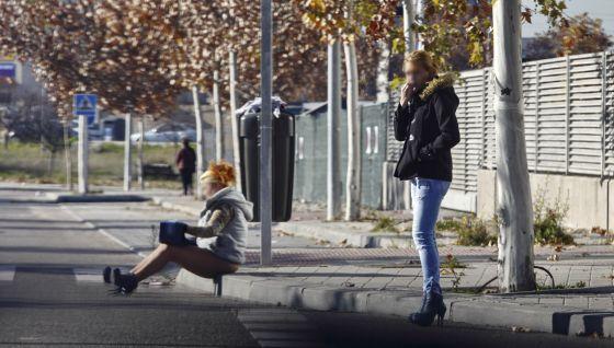 poligonos prostitutas madrid lenocinio concepto