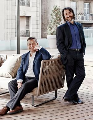 Perè Vallés y Jordi Puiggalí, los responsables de dirigir el rumbo de Scytl, 'startup' que tiene previsto entrar en el Nasdaq en 2016.