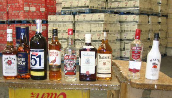 Calorías de bebidas alcoholicas