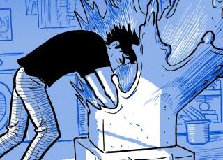 El Aristósteles del cómic vuelve con 'El escultor'
