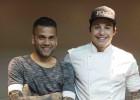 Dani Alves marca un gol de cocina con su chef brasileño