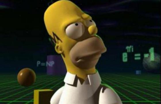 Homer, ante la identidad de Euler.