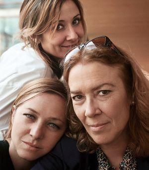 Nathalie Poza (arriba), Pilar Castro (izquierda) y Susi Sánchez (derecha). Tres secundarias de lujo en la gran pantallaque se curtieron en el teatro