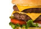 6 comidas menos sanas que una hamburguesa con mucho queso
