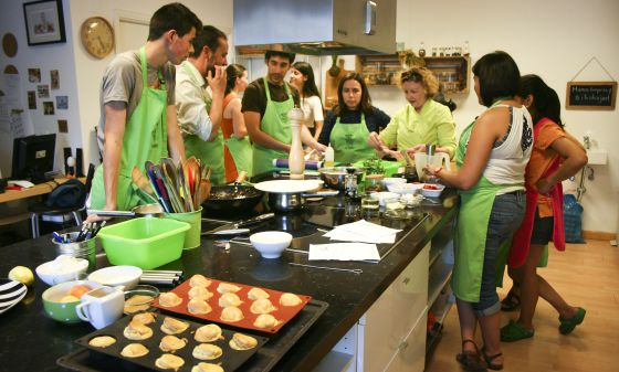 El fog n de la comarca los cursos de cocina para aficionados for Cursos de cocina madrid