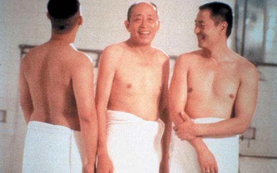 Fotograma de la película 'La ducha'.
