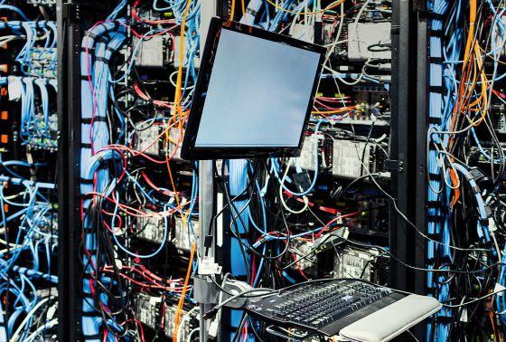 Detalle de conexiones de Watson, el gran proyecto de computación cognitiva de la multinacional IBM.