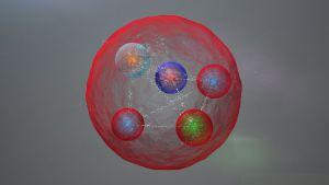 Una posible estructura del pentaquark