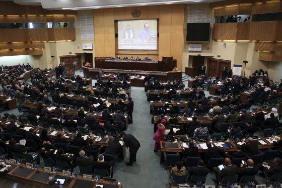 Vista general de la Tercera Conferencia Internacional sobre la Financiación para el Desarrollo en Addis Abeba, Etiopía.