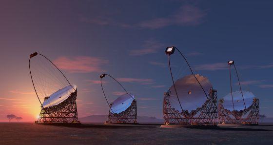 España albergará el mayor telescopio de rayos gamma del mundo