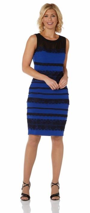 Imagen del vestido en una tienda online de ropa.