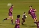 El niño de cuatro años que marcó un ensayo entre leyendas del rugby