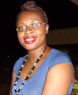 La escritora marfileña, Edwige Renée Dro. Imagen cedida por la autora.