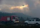Los incendios calcinan un 60% más de territorio que en 2014