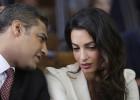 Amal Clooney, defensora de la libertad de prensa